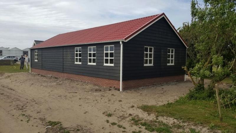 Garage met berging en carport - Gommers Houtbouw