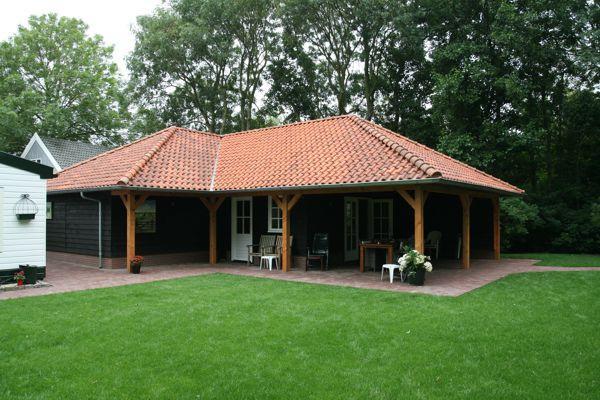 Garage carport berging en veranda gommers houtbouw - Ontwerp tuinhuis ...