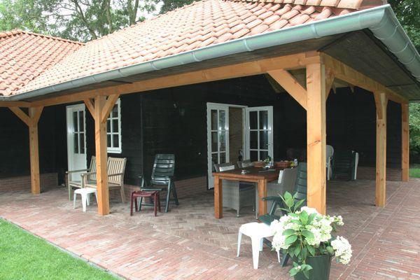 Garage Met Veranda : Cape cod garage met veranda in sint maarten gommers houtbouw